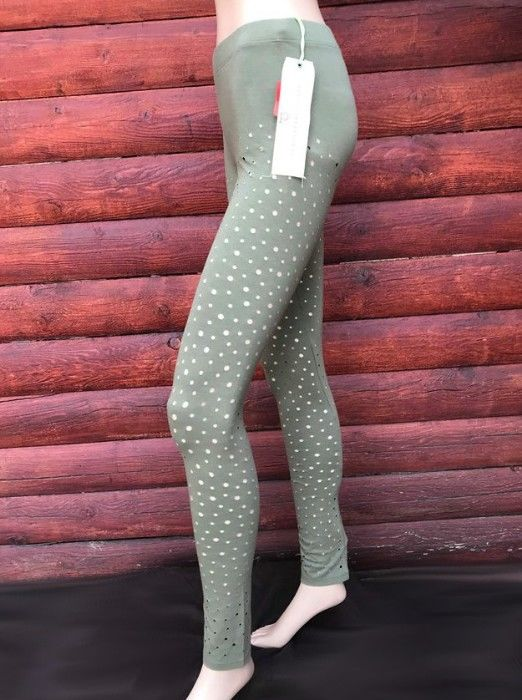 PimaDoll Cutout Leggings in Organic Cotton - product images  of
