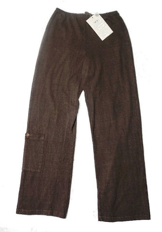 Earth,Creations,,Incredibly,Comfy,Hemp,Lounge,Pants,-Cocoa,Color,,Clay,Dyed,-,Size,Medium/Large,hemp pants, clay dyed clothing,hemp clothing, eco friendly hemp clothing, hemp womens pants,
