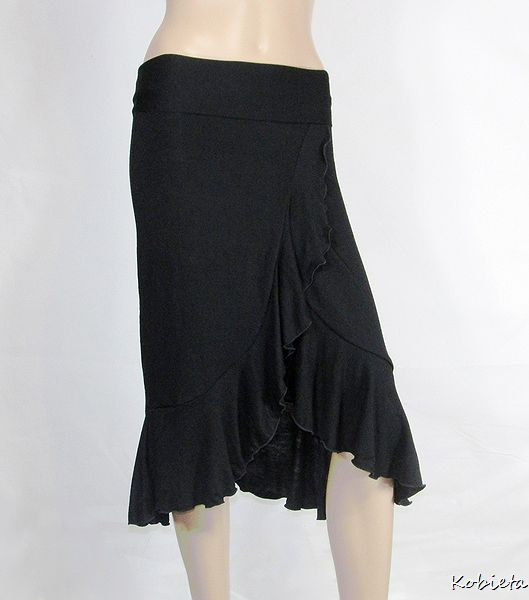 The Kobieta Salsa Ruffled Wrap Skirt - product images  of