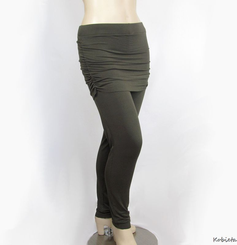Ruched Yoga Skirt to Create Skirted Yoga Pants - product images  of