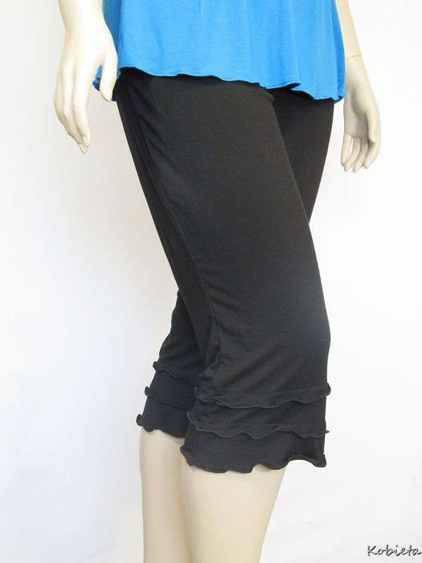 The Kobieta Triple Ruffled Capris - product images  of