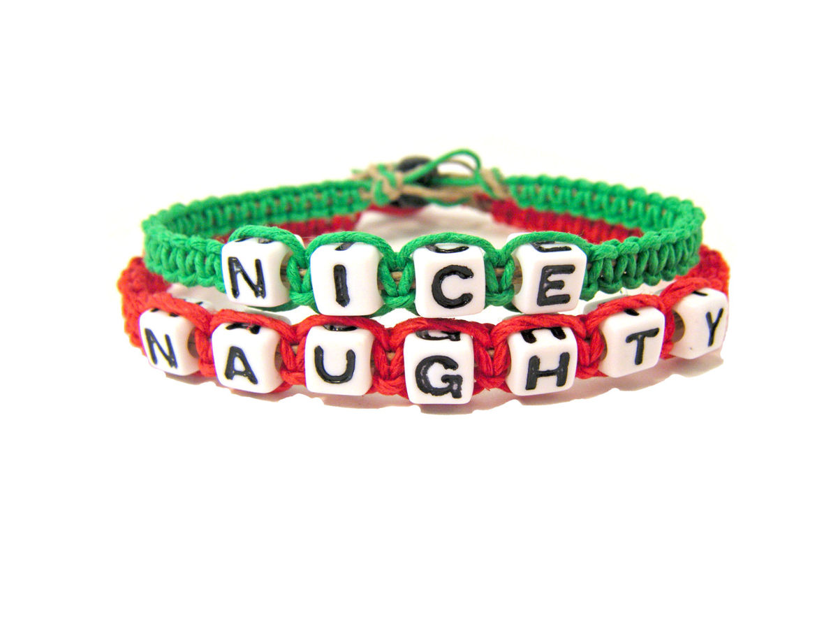 Naughty and Nice Hemp Bracelets - product images  of