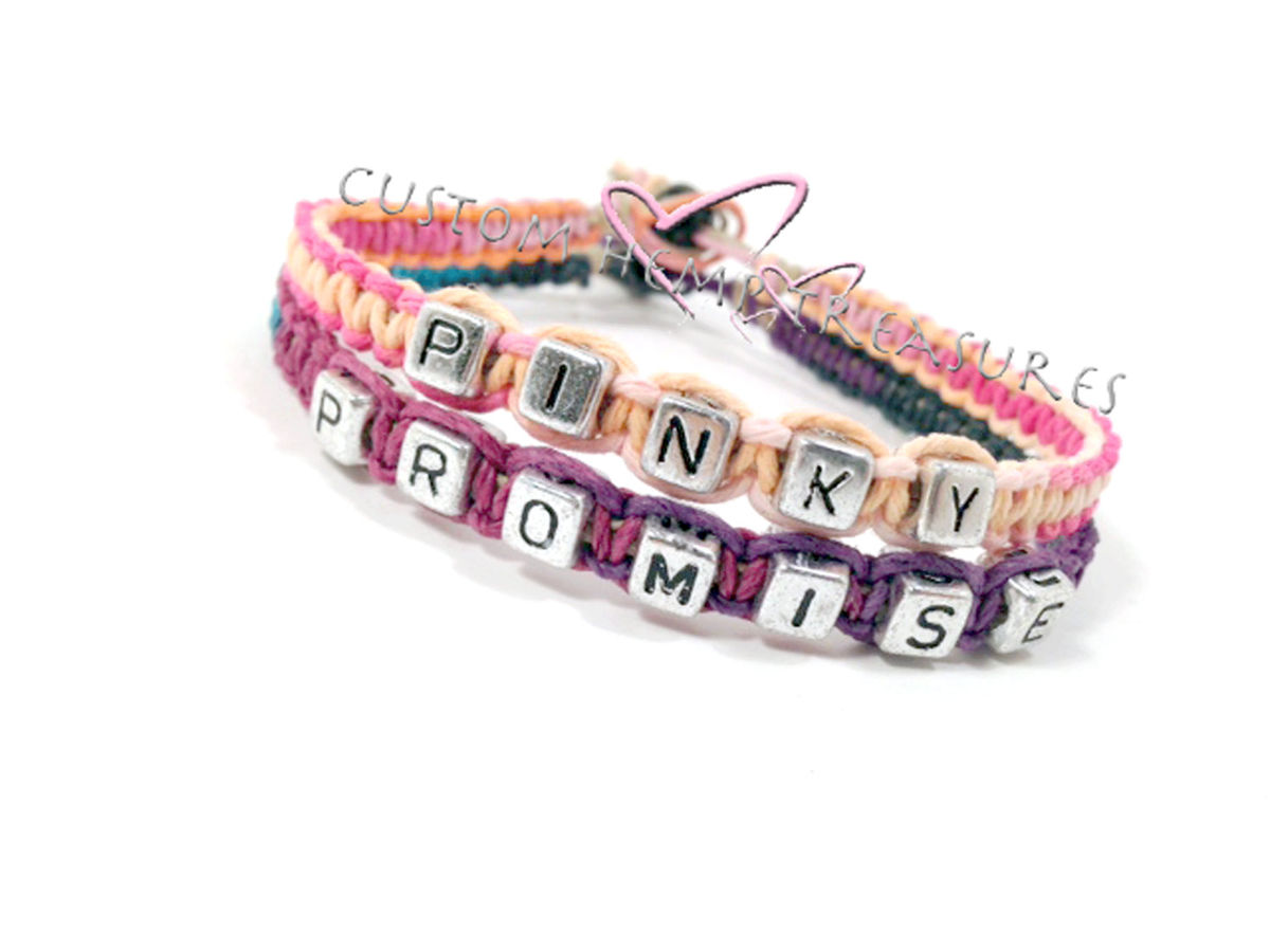 Pinky Promise Bracelets - product images  of