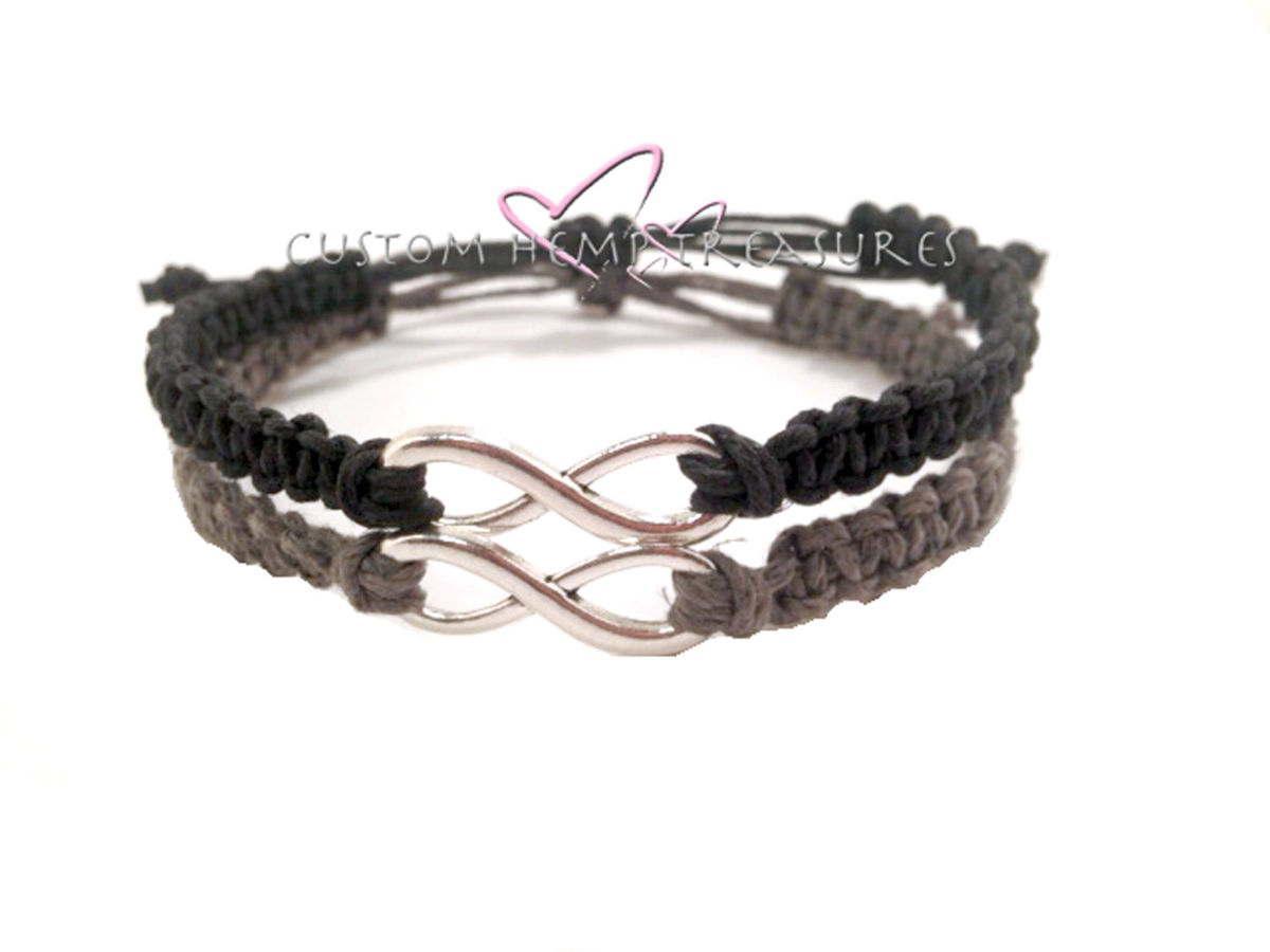Adjustable Infinity Couples Bracelets - product image