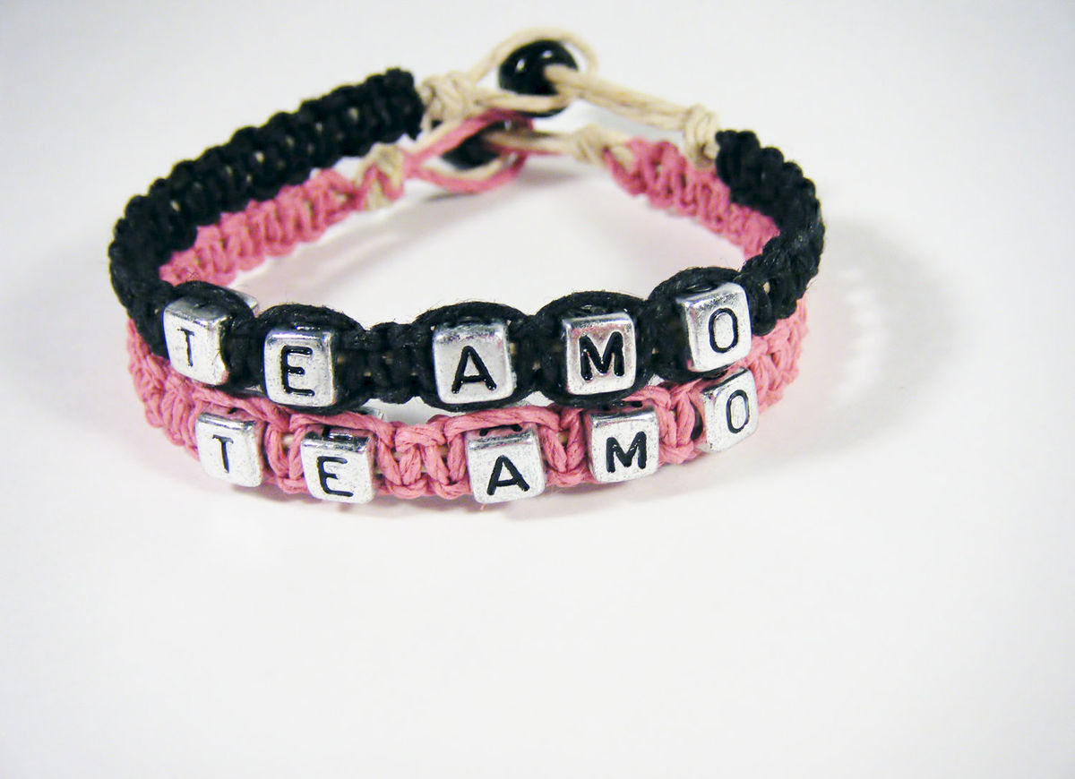 Te Amo Couples Bracelets - product images  of