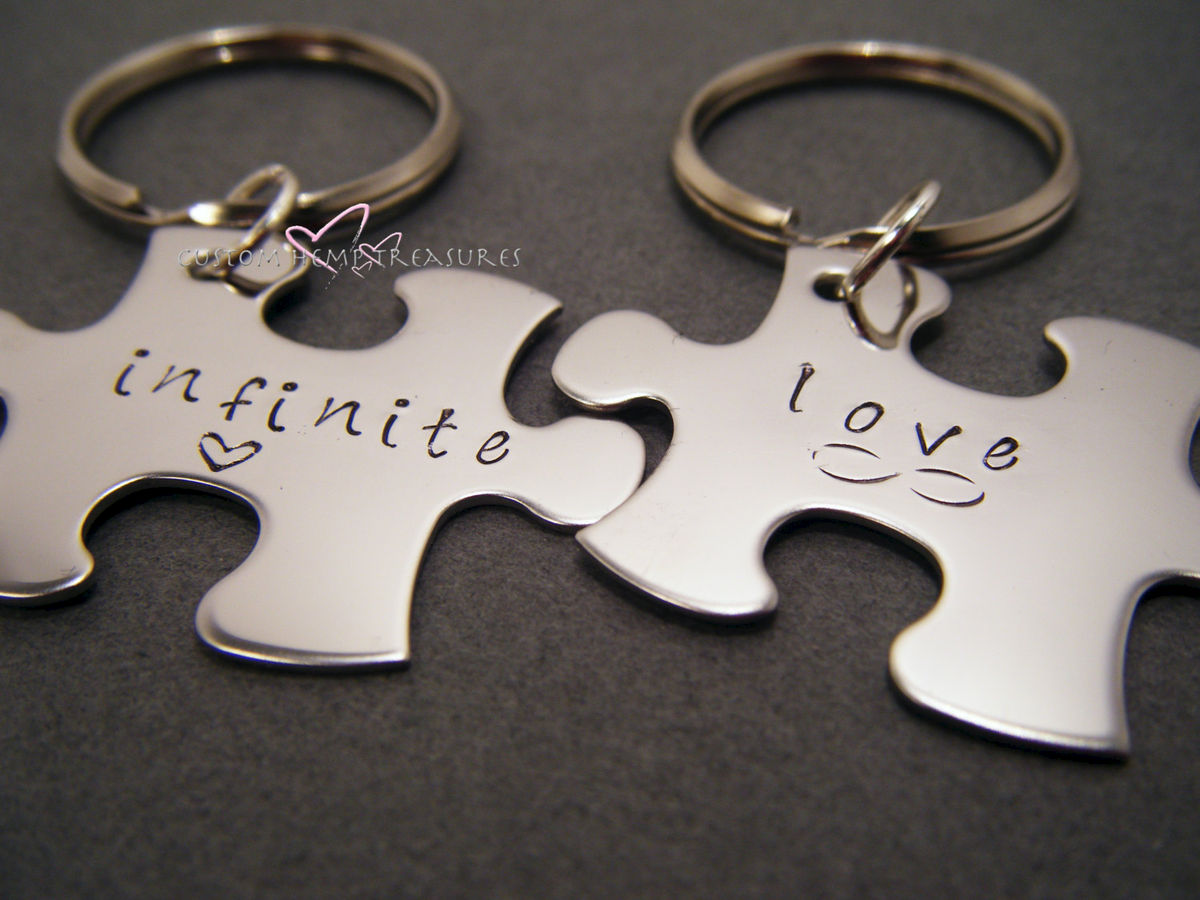 Infinite Love Couple's Keychains - product image