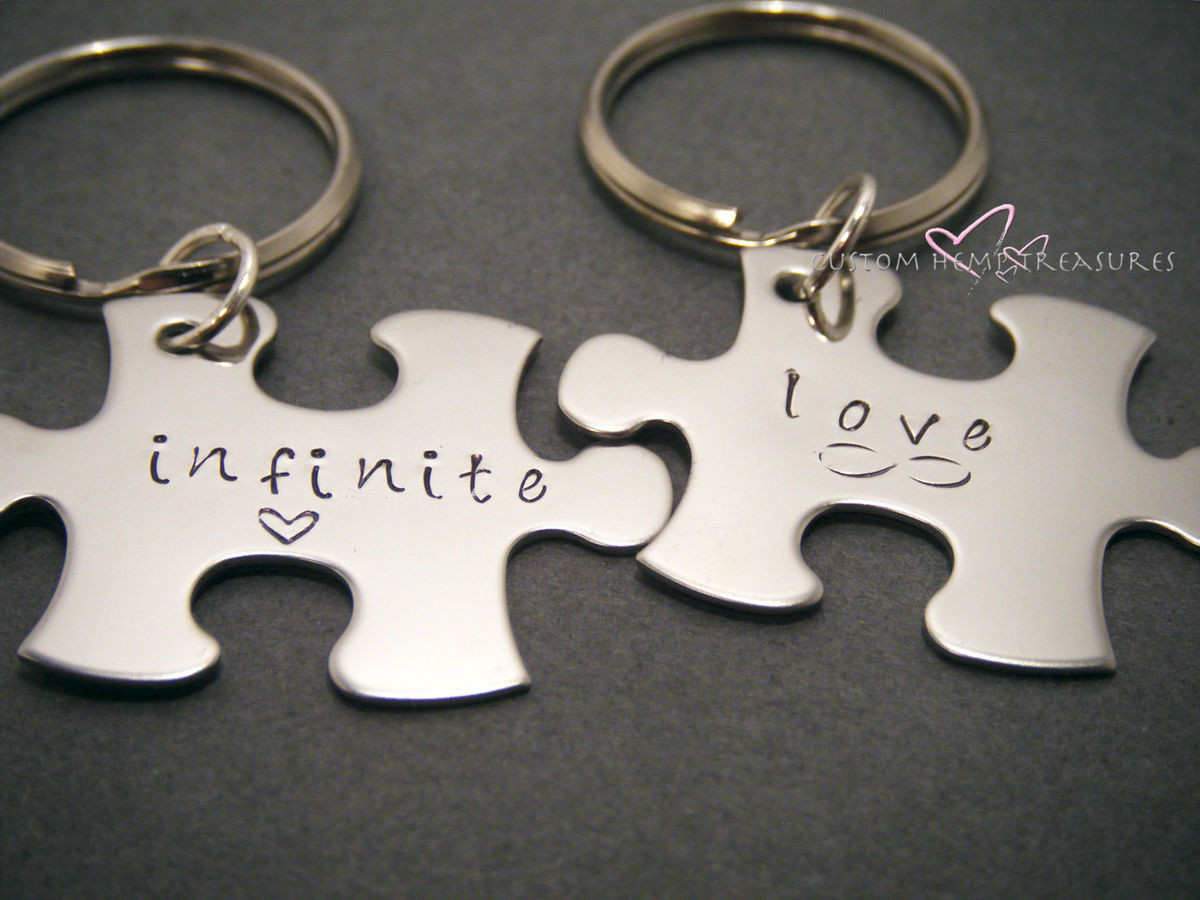 Infinite Love Couple's Keychains - product images  of