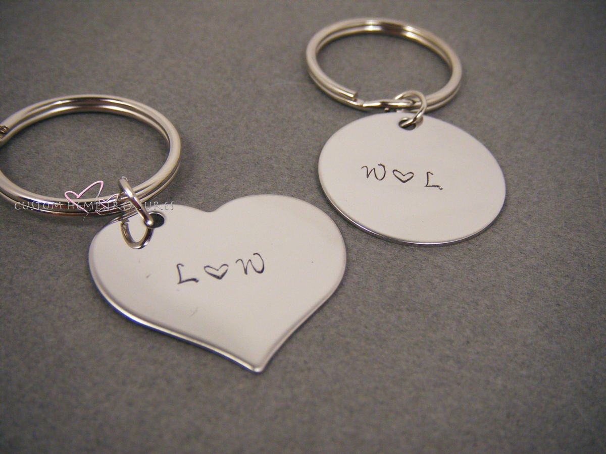 Personalized Initial Keychains - product images  of