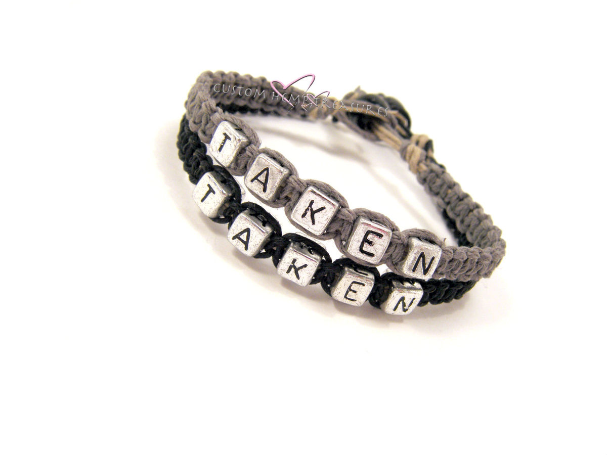 Taken Hemp Bracelets for Couples, Couples Bracelets - product images  of