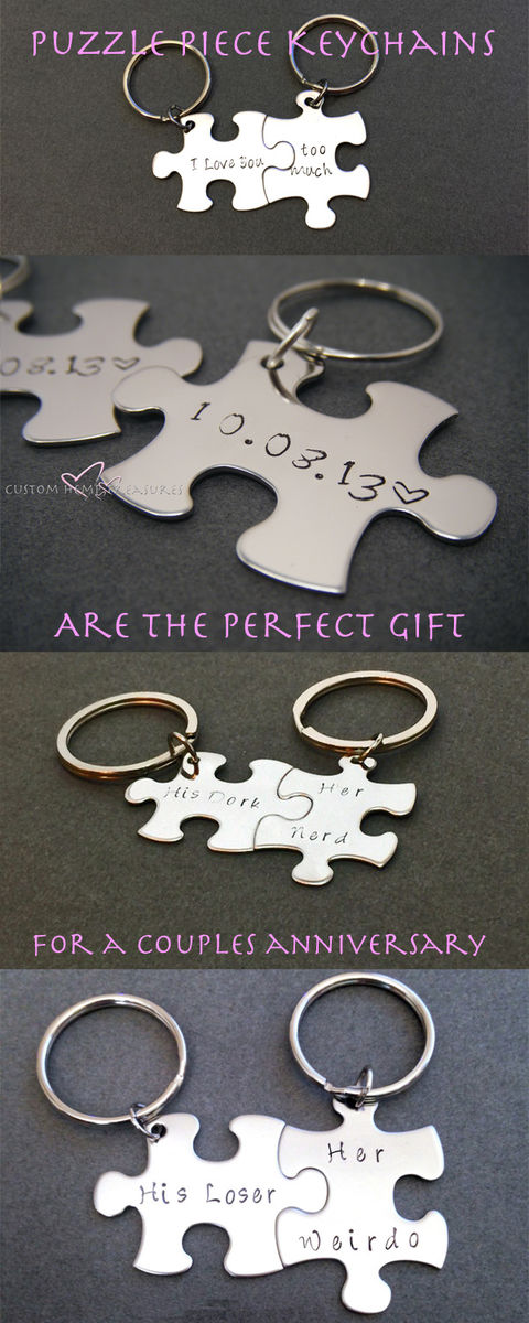 Anniversary Gift Keychains for Couples - product image