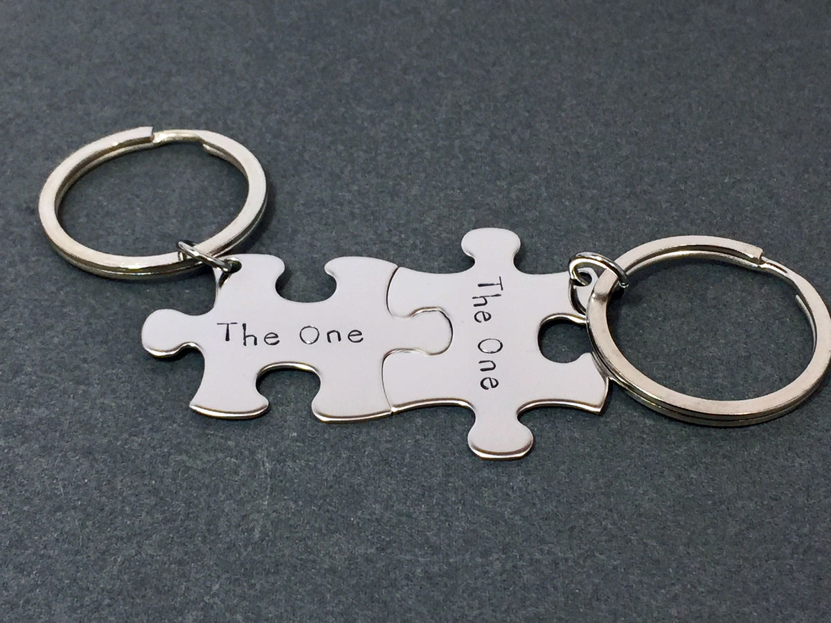 The One Couples Keychains - product image