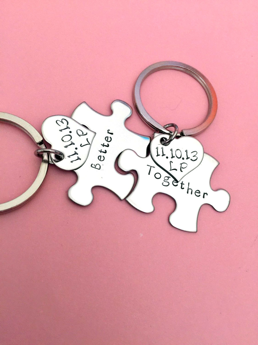 Httpwww Overlordsofchaos Comhtmlorigin Of The Word Jew Html: Better Together Couples Keychains With Add On Heart Charm