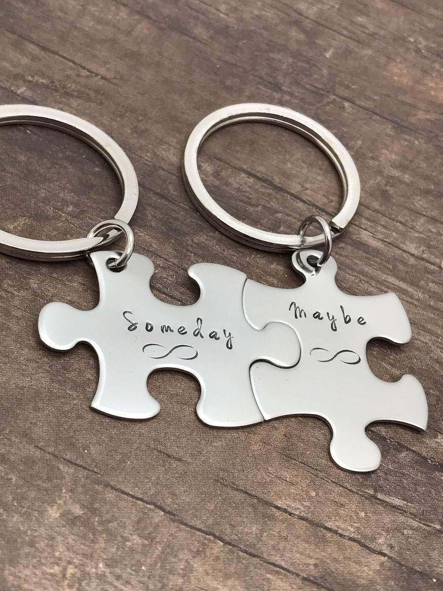 Someday Maybe Infinity Keychains for Couples - product image