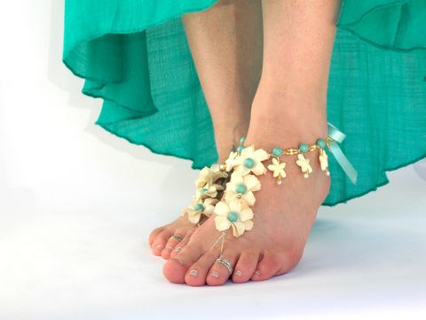 Tropical,Starfish,beach,wedding,Barefoot,Sandals,-,Color,Options,barefoot-sandals, barefoot-jewelry, foot-jewerly, starfish-barefoot-sandals, starfish-wedding, wedding-barefoot-sandals, aqua, sandals-for-brides, beach-bride, bridal-footwear, toe-thong, soleless-sandals, tropical-wedding-shoes