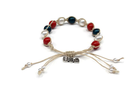The,Patriot,Hemp,Bracelet,usa, patriot-jewelry, hemp-bracelet, red-white-blue-bracelet, 4th-of-july-jewelry, independence-day-accessory, bracelet, usa-bracelet, handmade