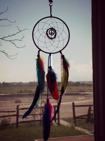 Peace,sign,Dream,Catcher,with,colorful,feathers,peace-dream-catcher, dream-catcher, hippie-dream-catcher, obsidian-gemstone-gift, gift-for-depression, gift-for-her, dreamcatcher, rainbow-dream-catcher, black-dream-catcher, 6-inch-dream-catcher, large-dream-catcher, handmade-dream-catcher
