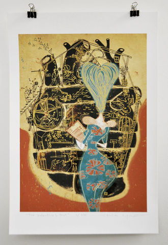 The,Valentine's,Test,Victo Ngai, limited edition giclee print, lover, valentine
