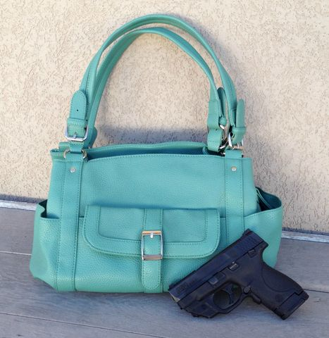 Addison,Concealed,Carry,Purse,in,Seafoam,concealed carry purse, conceal carry purse, gun purse, women's concealed carry, women's gun purse, holster purse, green gun purse, blue gun purse, green concealed carry purse, blue concealed carry purse, CCW purse, CCW for women, CCW gun purse, concealed