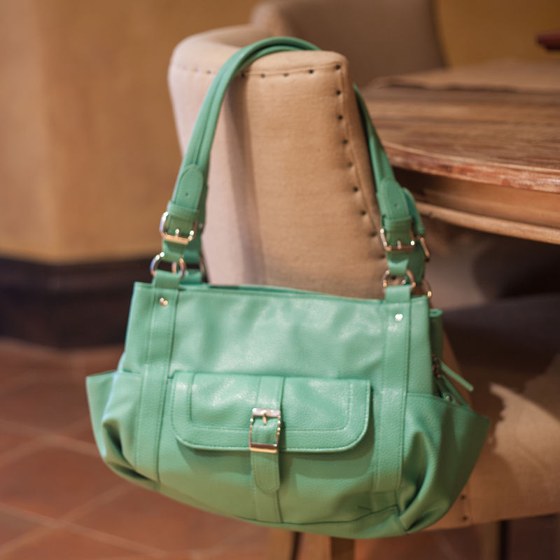 Addison Concealed Carry Purse in Seafoam - product images  of