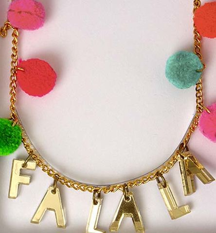 Fa,La,Christmas,Necklace,childrens necklace
