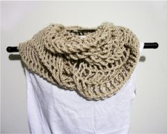 Crochet Pattern: Convertible Cropped Sweater/ Cowl/ Scarf Lace Shrug Up to 2X - product images 5 of 6