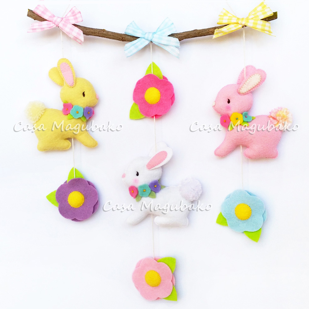 Bunny Wall Hanging Pattern Coming Soon..