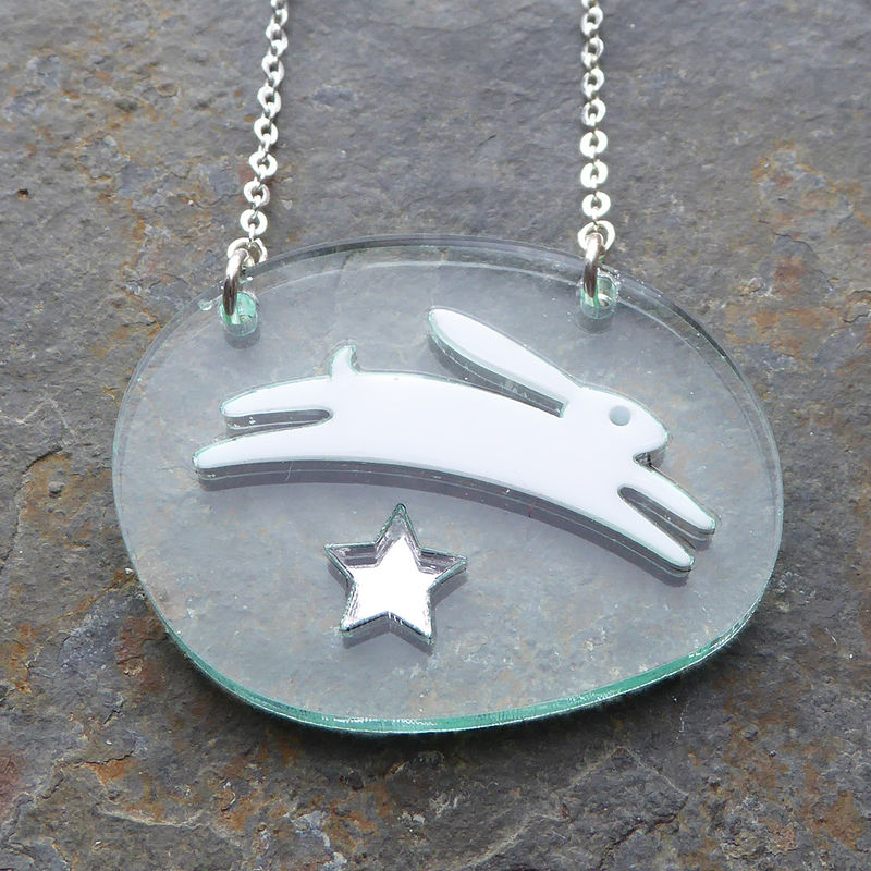 Starlight Hare Pendant  - product images  of