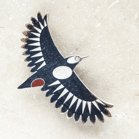 great,spotted,woodpecker,brooch,Hand Painted Woodpecker Brooch, Woodpecker Brooch, Woodpecker Jewellery, Greater Spotted Woodpecker Brooch, British Birds, Laser Cut Jewellery, Laser Cut Wooden Bird Brooch, Laser Cut Wood, Shark Alley Bird Brooch,