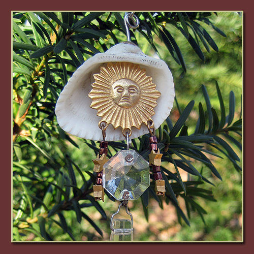 Sunshine Eye Catcher Ornament with Drop Prism - product image