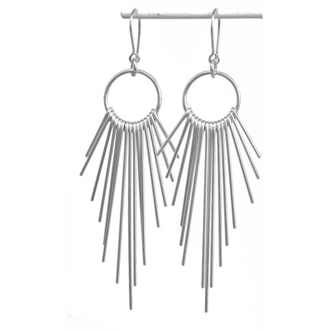 Handmade,silver,'dangle',earrings,silver earrings, dangle, norbert abel, west cork crafts
