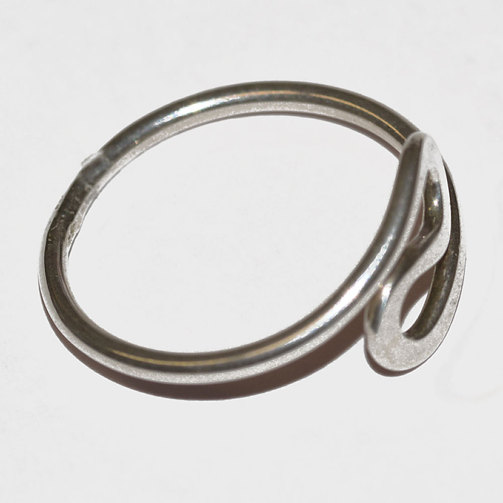 Handmade silver 's' ring - product images  of