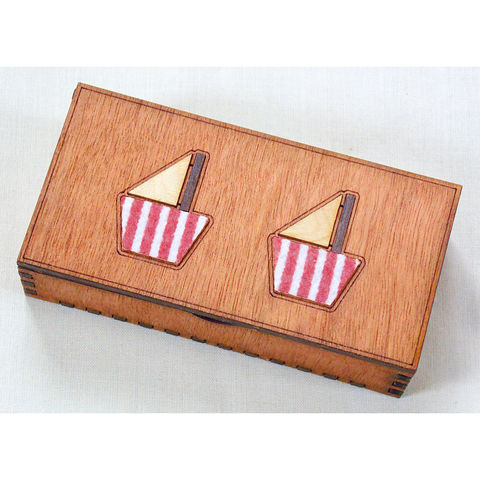 Long,boat,box,(stripey,felt),long boat box, stripey felt, rossbrin creative, west cork