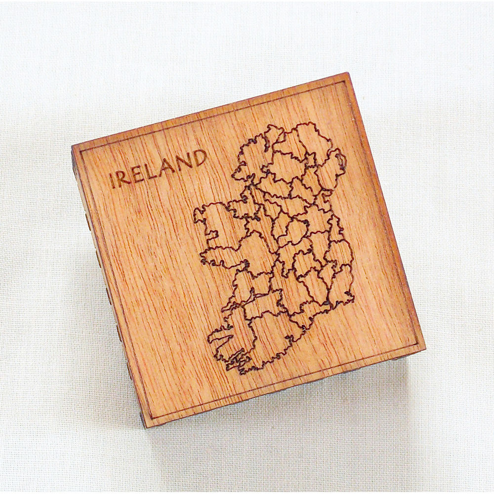 Small engraved box - Eire / Ireland - product images  of