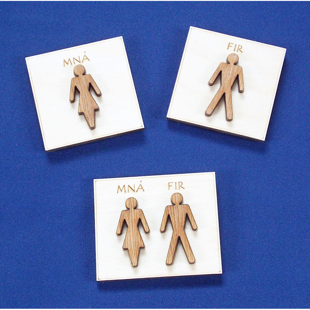 Mna / Fir fridge magnets - product images  of