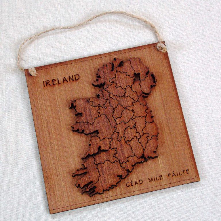 Ireland Map Plaque - product images  of