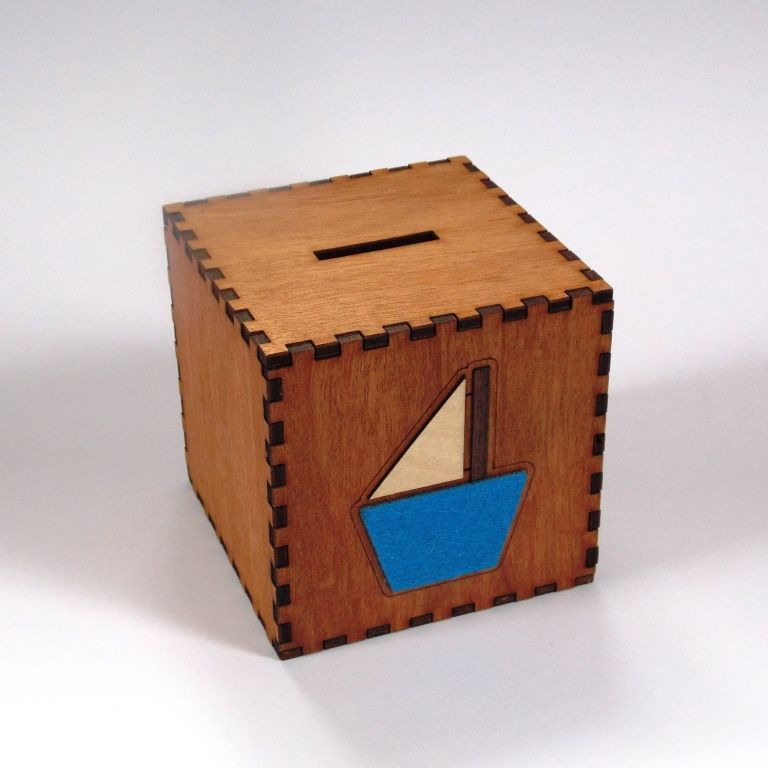 Large Boat Money Box - product images  of