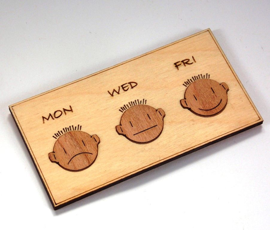 Mon/Wed/Fri Magnets - product images  of