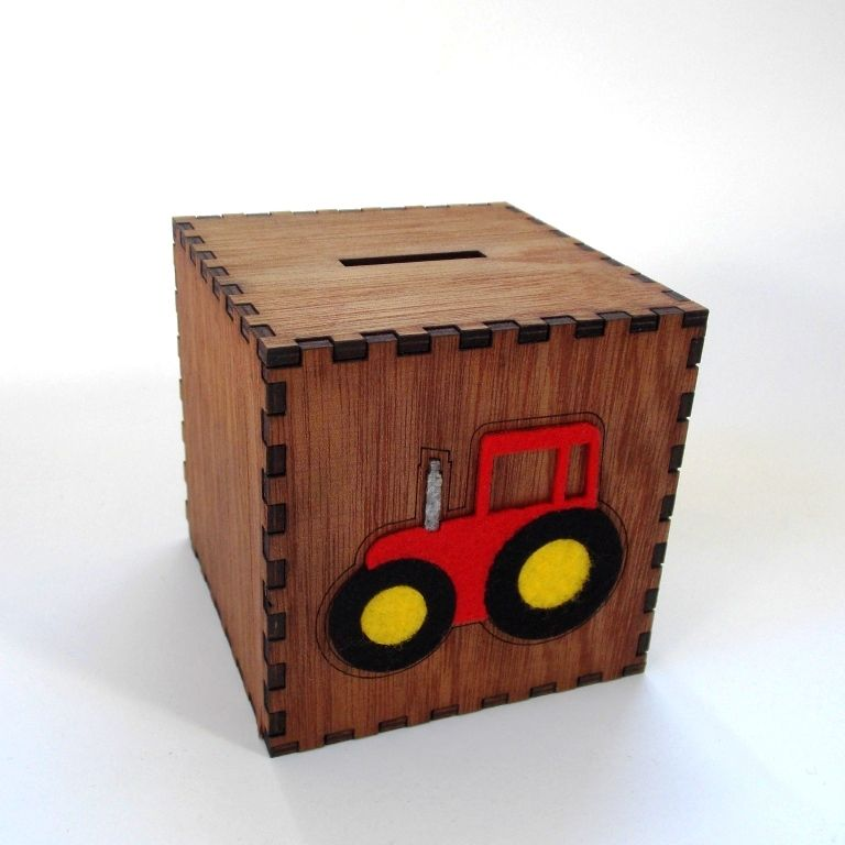 Large Tractor Money Box - product images  of