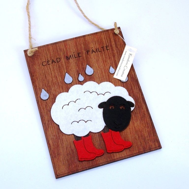 Sheep plaque - product images  of