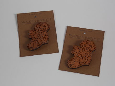 Ireland,/,Eire,Brooch,eire ireland map brooch, rossbrin creative, west cork