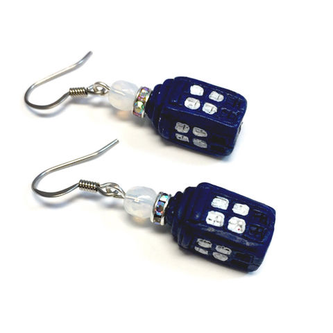 Tardis,Doctor,Who,Earrings,Jewelry,blue_box,tardis,Doctor_Who,Native_American,earrings,Police_Box,ndnchick,Geek_Earrings,Tardis_Earrings,Doctor_Earrings,Bigger_on_the_Inside,The_Doctor,Sexy