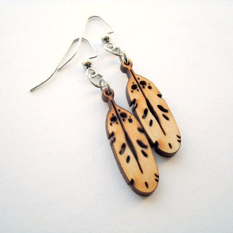 Eagle,Feather,Wood,Earrings,Jewelry,ndnchick,feather_earrings,native_earrings,Native_American,Powwow_Earrings,Wood_Earrings,Nickle_Free_Earrings,eagle_earrings,Eagle_Feather,dangle_earrings,stocking_stuffer,Native_Jewelry,Fall_Gift,Stainless steel