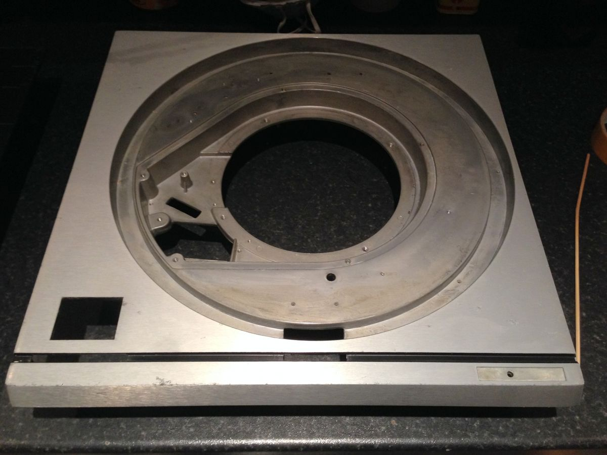 Technics SP10 Turntable Chassis And Platter Restoration Service. - product images  of