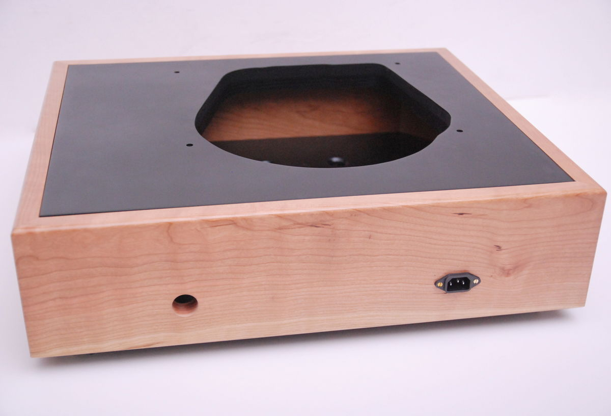 Classic Solid Wood Plinth For All Stand Alone Turntable Motor Units - product images  of