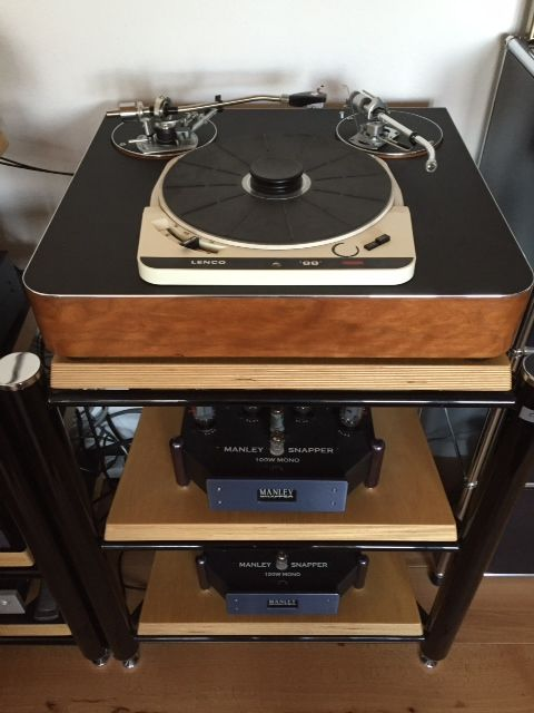Solid Plinth System For Garrard 401 / 301 Or Any Stand Alone Motor Unit - product images  of