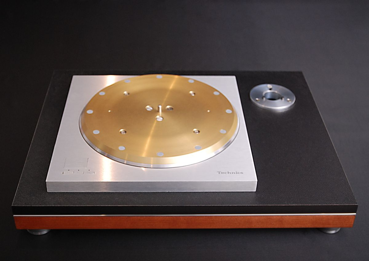 Acoustand Slimline Plinth 2 System For Technics SP Series Turntables 15 25 10 - product image