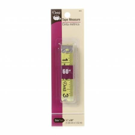 Dritz,Tape,Measure,5/8x60,dritz, tape measure