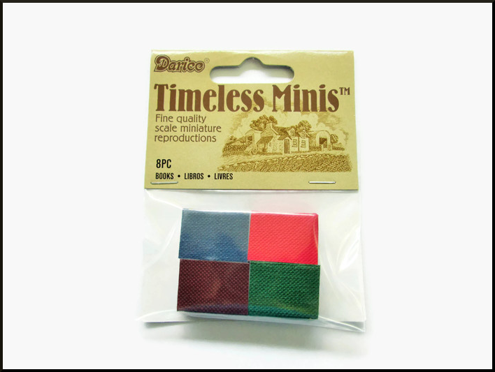 8 Packs of Miniature Books (8 per pack)=64 Total - product image