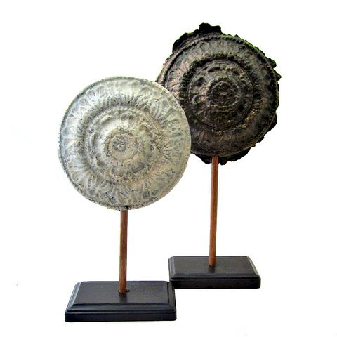 Paper,Mache,Filigree,Sculptures,on,Stands,paper mache art objects, paper mache decor accents, paper mache filigree sculptures, handmade papier mache, artist made paper mache, recycled sculpture objects, home accent, recycled interior accents