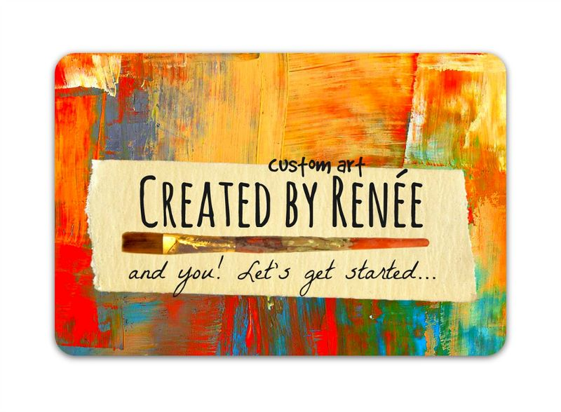 Painterly Gift Card - product images  of